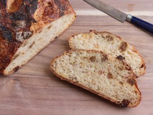 Blood orange and dried mulberry bread